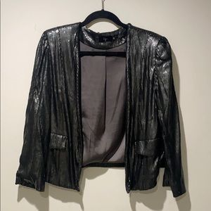 Aqua Sequin Jacket